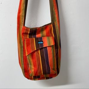 Kavu Canvas Crossbody Shoulder Bag